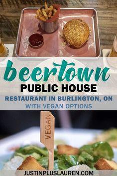 25eeca527d796b Best Restaurants in Burlington with Vegan Food  Beertown Public House