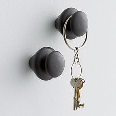 lathe coat hook in wall décor | CB2