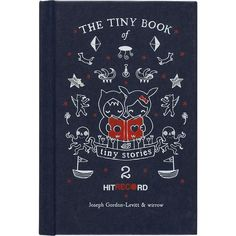"CB2 ""Tiny Book Of Tiny Stories"" ($5.95) ❤ liked on Polyvore featuring fillers and books"