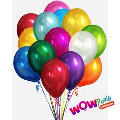 Balloons bring to your family parties and corporate events a fashion statement and vibrancy. To celebrate and add fun, they make the party. Bulk Balloons, Latex Balloons, Up Imagenes, Happy Birthday Png, Balloon Release, Wholesale Balloons, Wholesale Party Supplies, Plastic Clips, Eye Roll