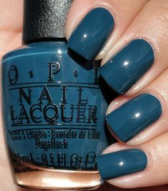 OPI CIA = Color Is Awesome // @kelliegonzoblog