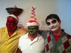 Face Painting Grinch
