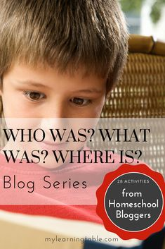 Who Was?® What Was?® Where Is?® Blog Series If you have kids, chances are, you have heard of the Who Was?® What Was?® Where Is?®series of books. If you haven't heard of them, go check them out now! These books are educational, engaging and well-written, and they are wonderful for introducing kids to non-fiction reading. …