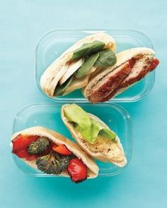 Martha Stewart's School Lunch Ideas