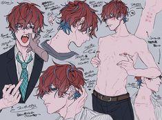 Fanarts Anime, Manga Anime, Anime Art, Cool Anime Guys, Cute Anime Boy, Character Art, Character Design, Cute Art Styles, Pretty Art