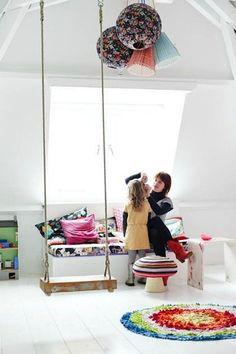 12 ideas for indoor play | Handmade Charlotte #playrooms #kidsrooms