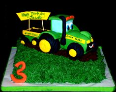 Tractor Cake - Tractor made of RKT