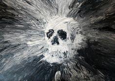 Acrílico sobre papel por José Izquierdo.  Pintura / Clase de Arte