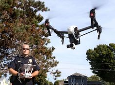 Eye in the sky West Salem PD one of the first to use drone