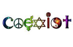 rainbow+coexist | Found on zazzle.com