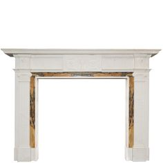 This Blenheim designed surround is a highly attractive Georgian Style carved fireplace from Sienna and Statuary marble.The grand piece in the style of Willian Chambers, features a beauti. Marble Fireplace Surround, Fireplace Mantel Surrounds, Marble Fireplaces, Cast Iron Radiators, Architectural Salvage, Georgian, Entryway Tables, Carving, Wood