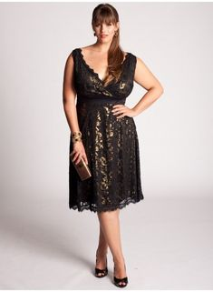 The Leigh Dress in gold. Romantic <3