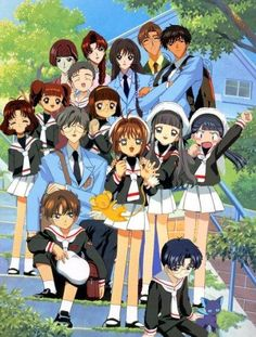 card captors! hahaha I totally remember watching this as a kid!
