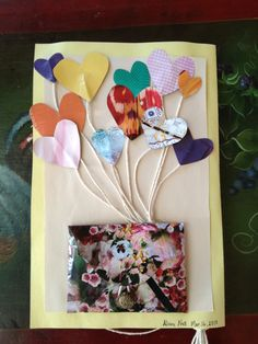 DIY card..mothers day/ birthday  Just made for moms birthday:) super cute! ..Back pg.