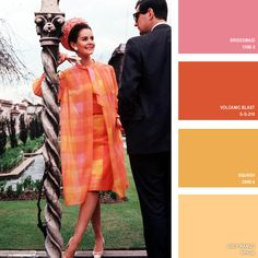 1964 | 16 Beautiful Color Palettes Inspired By Retro Fashion