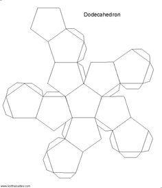 Polyhedra paper model - cuboctahedron   MAKE ✏   Pinterest ...