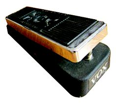 SRV's Vox V846 wah (originally owned by Hendrix)