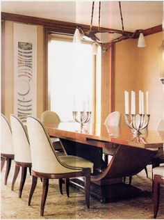 Art Deco Dining Room Furniture Gives Life And Beauty To Spaces
