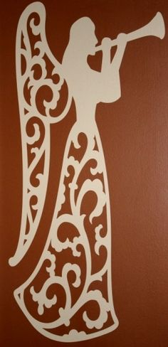 Wall Vinyl Angels: http://joyslife.com/cricut-christmas-vinyl-angel-12-days-of-christmas-day-five-give-away/