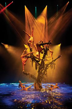 A behind-the-scenes tour of Le Rêve – The Dream, a Las Vegas theater experience for divers only Wynn Las Vegas, Las Vegas Shows, Las Vegas Tickets, Nevada, Las Vegas Vacation, Circus Art, Places Ive Been, Places To Visit, Theater