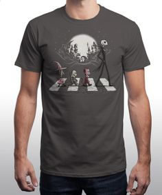 """""""Halloween Road"""" on Qwertee : Limited Edition Cheap Daily T Shirts 
