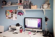 #decor #desk #computer