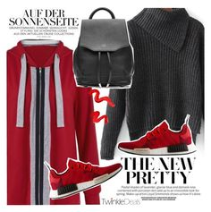 """""""Sport in red"""" by vanjazivadinovic ❤ liked on Polyvore featuring adidas, rag & bone, Topshop, polyvoreeditorial and twinkledeals"""