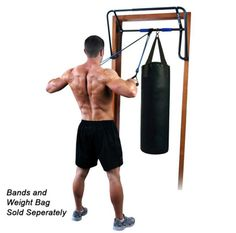 EZ-Up Chin Up Rack. Perfect For Chin Ups and Pull Ups http://www.net2fitness.com/ez-up-chin-up-rack.html
