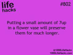 Flower hack