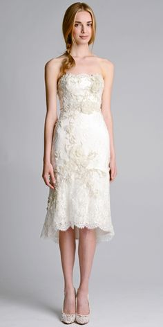 Marchesa - Marchesa Fall 2014 Wedding Dresses - InStyle Weddings - Celebrity - InStyle