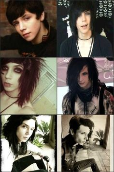 The evolution of Andy Biersack.