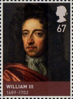 House of Stuart 67p Stamp (2010) William III