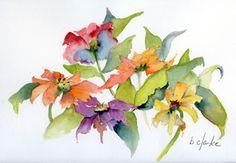 Barb Clarke original watercolors