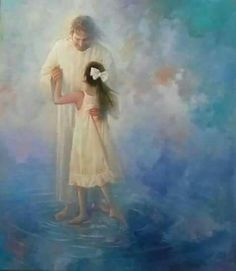 Dancing on the water with my Father Jesus!! ❤️