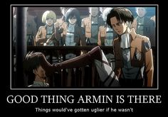GOOD THING ARMIN IS THERE