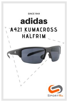 7d01b7ae36 Shop adidas A421 Kumacross Halfrim Online at SportRx. Available in  prescription. Adidas