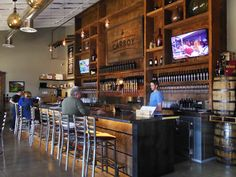 """Littleton's chic new négociant winery showcases a signature collection of """"craft wine"""" on tap."""