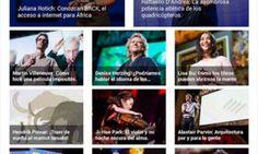 Conferencias desde la tableta con TED
