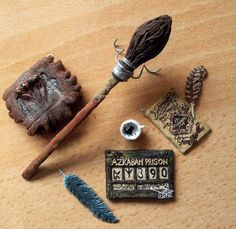 Harry Potter Prisoner of Azkaban mini pendant set by EerieStir