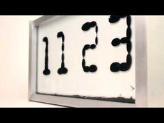 "You Have Never Seen A Clock Like This Ferrofluid Clock [Video] - It's called ""Ferrolic"" and is a ferrofluid clock that will impress you beyond your belief. No number will ever look exactly the same."