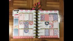 Plan with me November 7, Happy planner