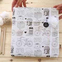 10 Papeles de regalo - Surtido Mr.Wonderful  -  Mr. Wonderful