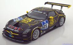 Mercedes SLS AMG GT3, Nurburgring 2013, No.125, Zehe/Bullitt/Renger/Hartung. Minichamps, 1/18, No.151 133125, Limited Edition 1000 pcs. 40€