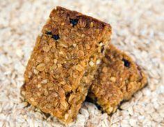 Homemade Nut Free Granola Bars