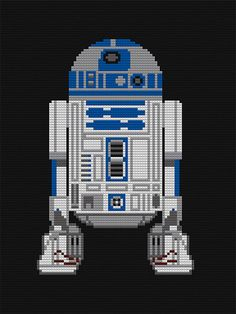 Star Wars LEGO Mosaics: The Real LEGO Star Wars thinking I can do this as a cross stitch or duplicate knit