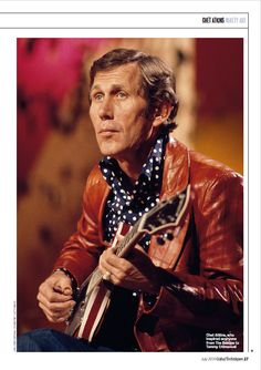 Chet Atkins C. from the - Guitar Techniques Mag 27 Country Singers, Country Music, Guitar Reviews, Chet Atkins, Music People, Types Of Music, Rock And Roll, Jazz, Musicals