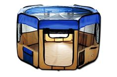 Top 5 Best Portable Dog Playpen Reviews 2016 - Best Dog Crates and Beds