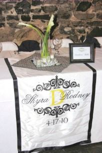 Monogram Runners & Banners Gallery - Exclusive Elements