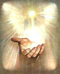 mão de Luz