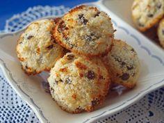 #ινδοκάρυδα #coconut #oconutmacaroon #nostimiesgiaolous Food Porn, Muffin, Sweet Home, Cooking Recipes, Sweets, Cookies, Eat, Breakfast, Coconut Macaroons